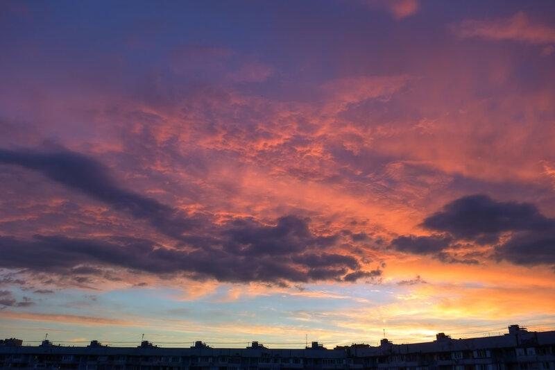Необычной красоты небо