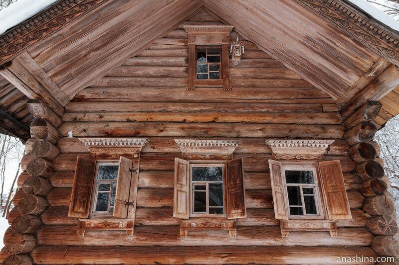 Фасад дома Пашковой, Щелоковский хутор