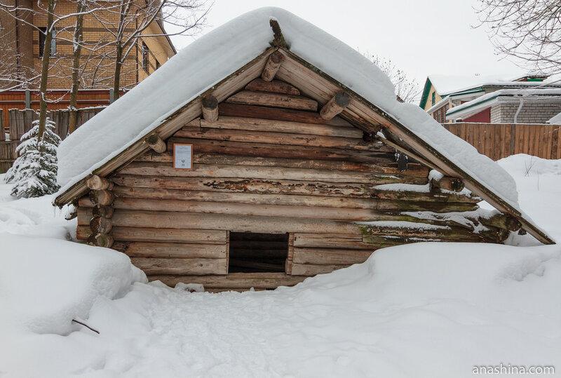 Овин ямный, Щелоковский хутор
