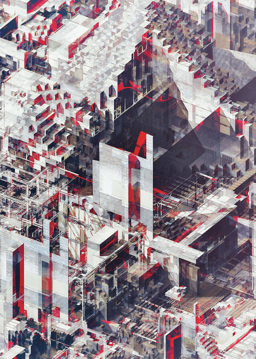 Pixelated City by Atelier Olschinsky