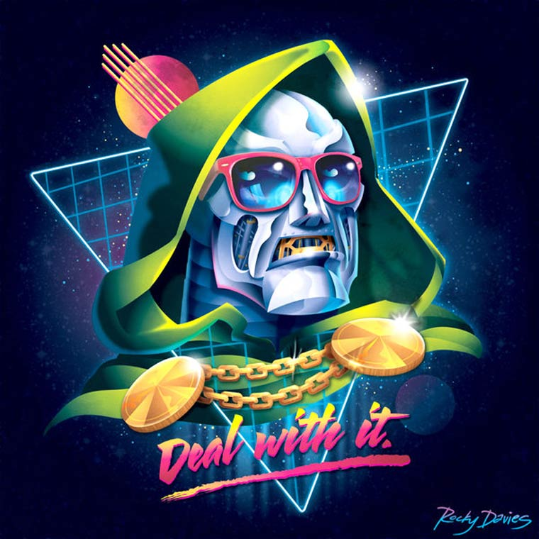 80s Supervillains - Un hommage vibrant a la Pop Culture des annees 80