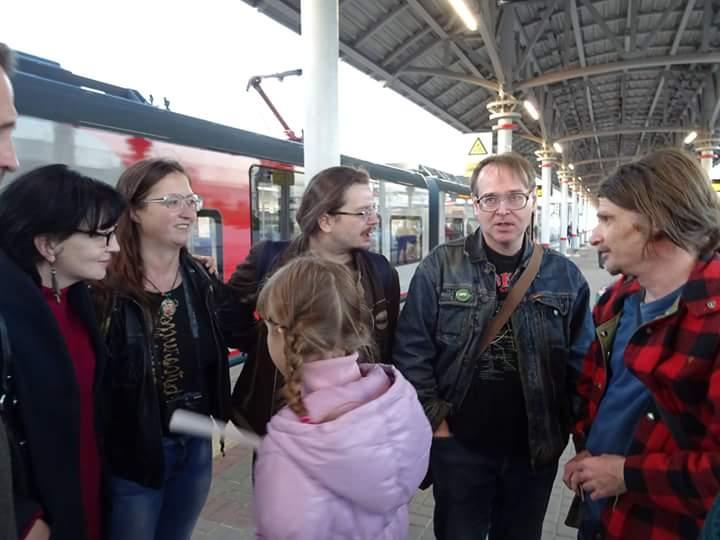 На станции Угрешская