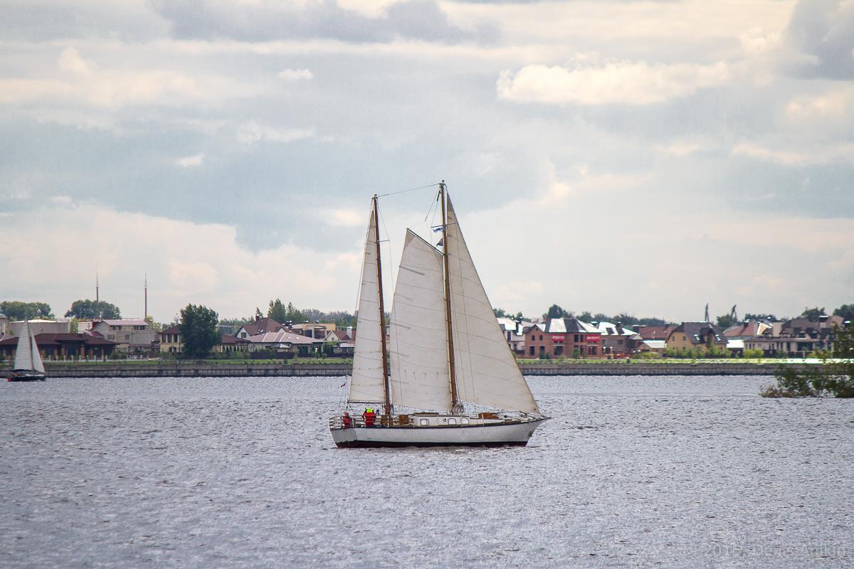 Яхты на Волге 3