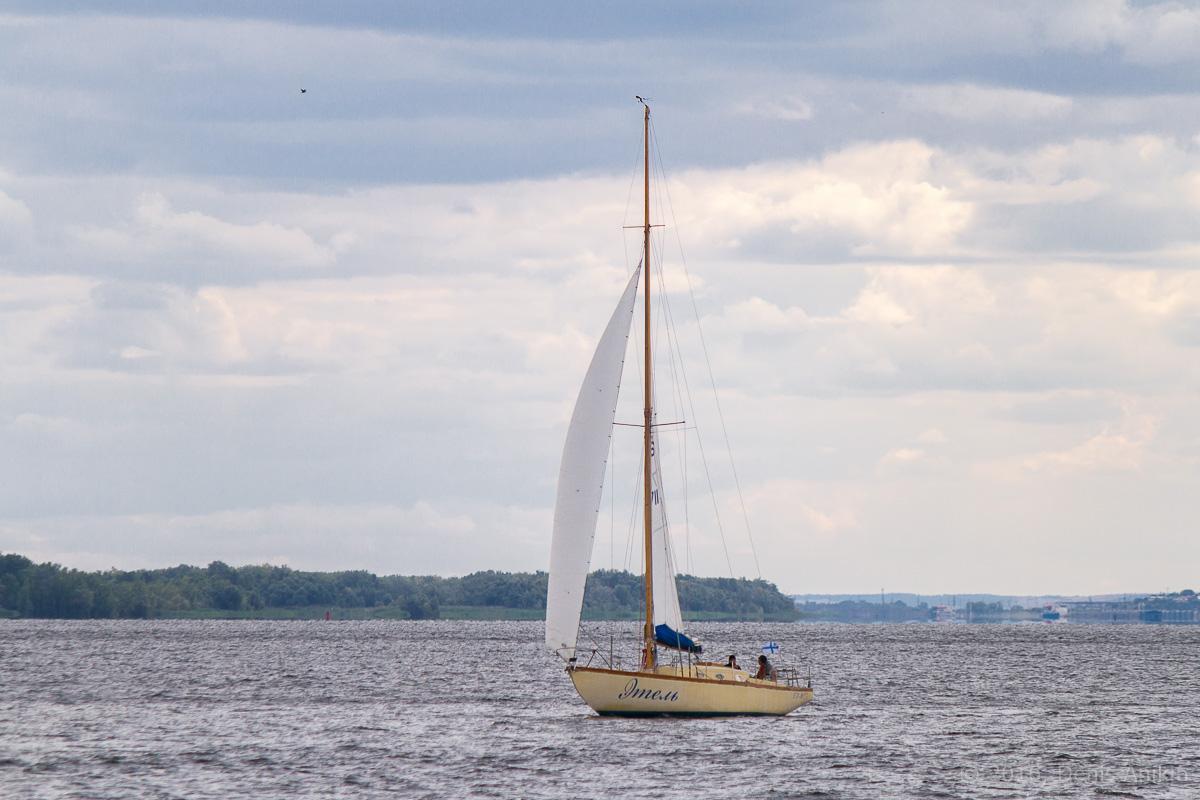 Яхты на Волге 22