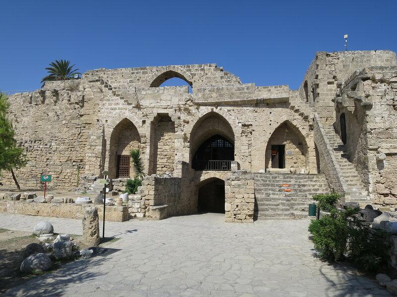 Кирения. Франкский входной комплекс с внутренней стороны крепости