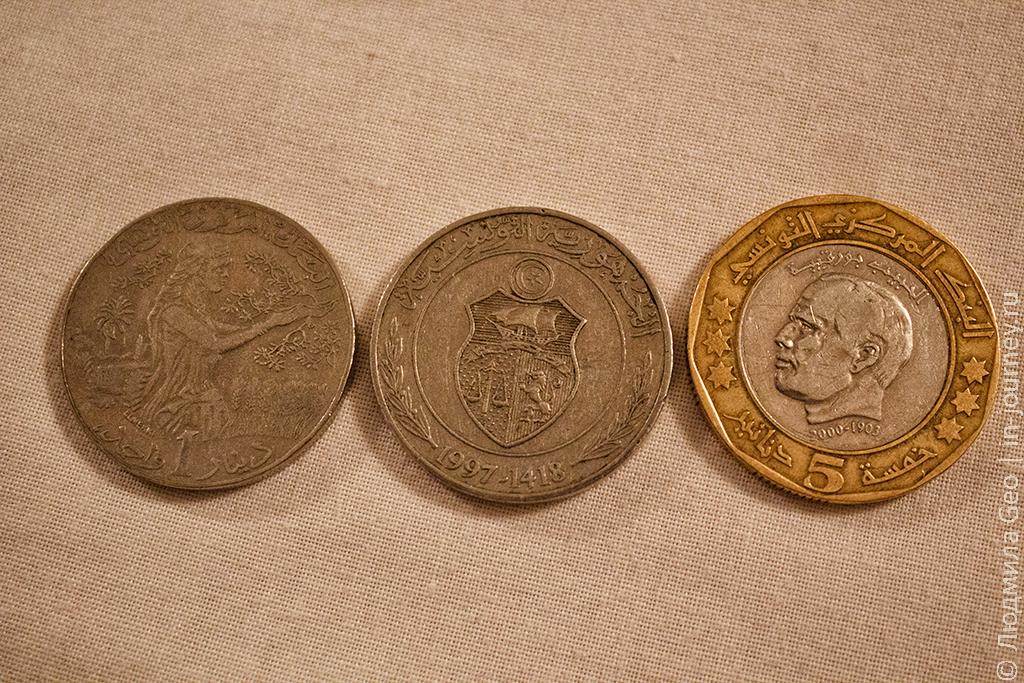Тунис деньги валюта