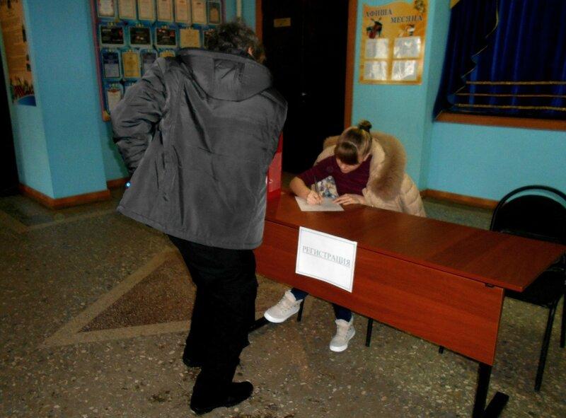 Регистрация участников турнира ... Шахматный турнир. Выселки. Декабрь 2016