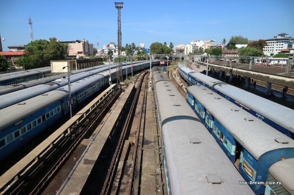 Железнодорожный вокзал Тривандрама