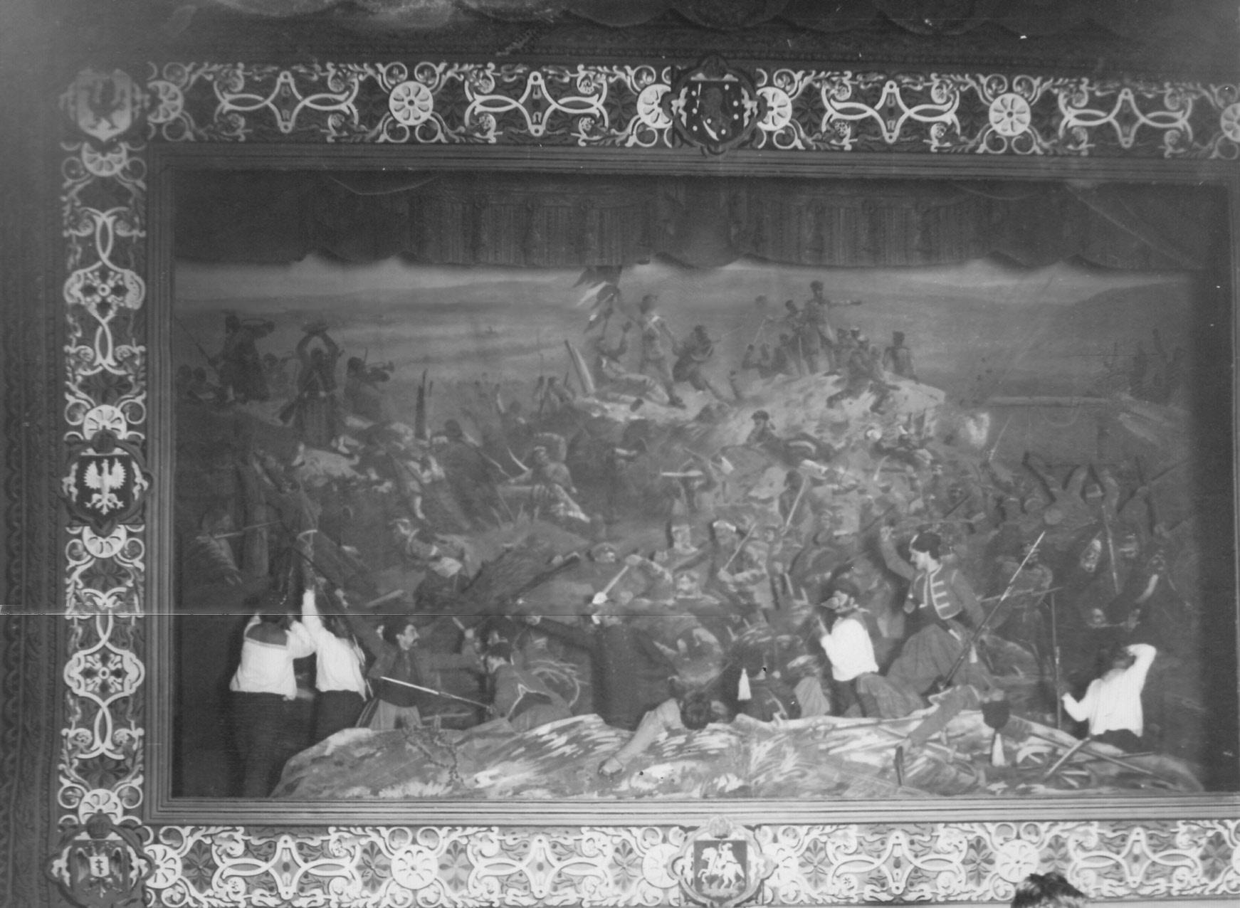 15. «Оборона Севастополя» - сцена из постановки живых исторических картин