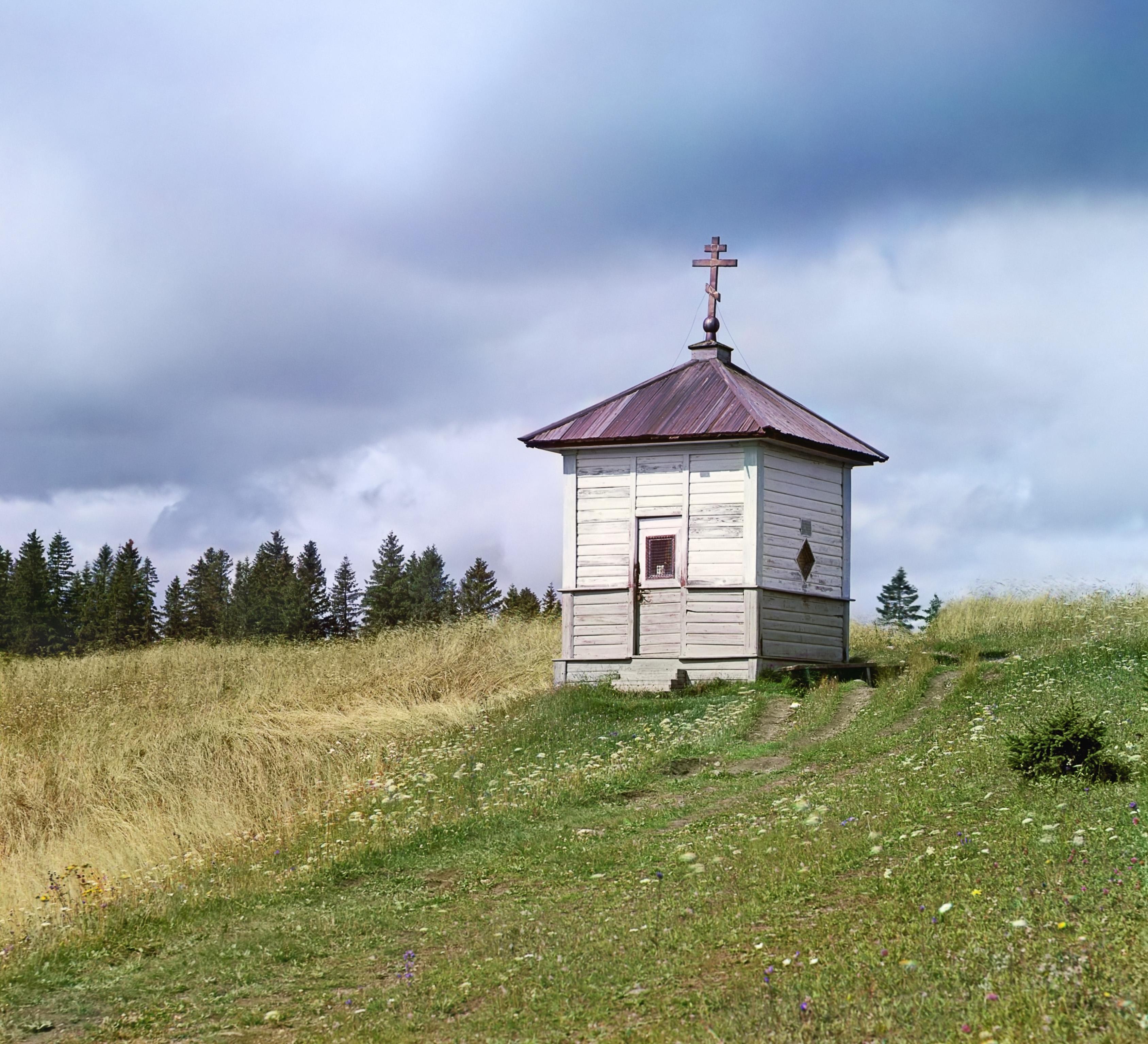 Часовня Кирилла Белозерского на Ольгиной (Мауровой) горе