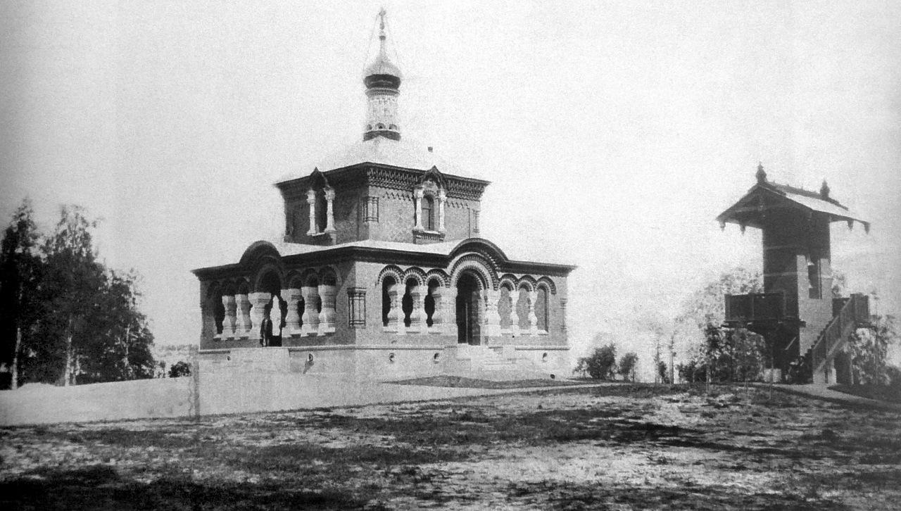 1864. Церковь Святой равноапостольной княгини Ольги
