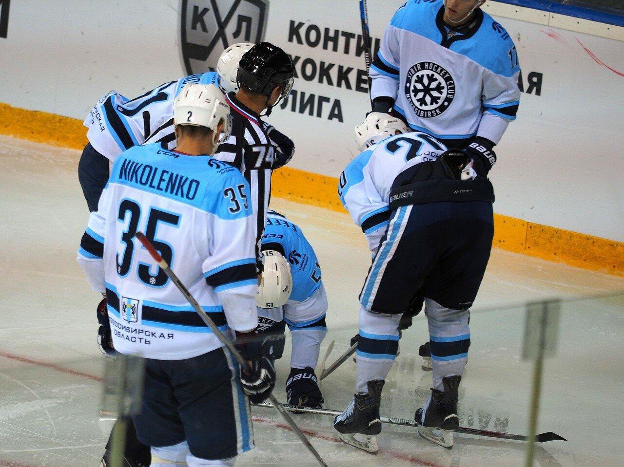 Мемориал Ромазана 2016, Металлург - Сибирь 14.08.2016