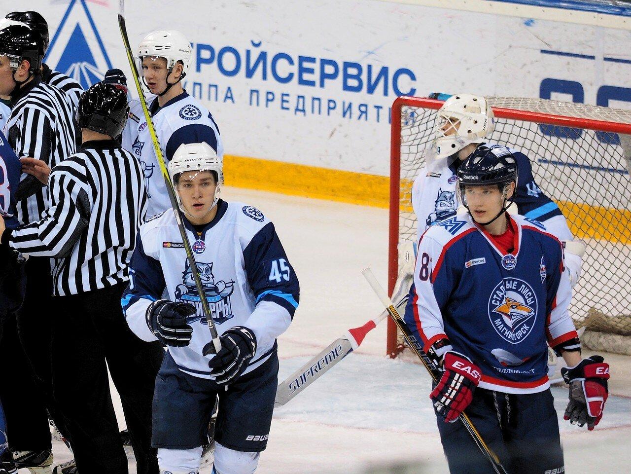 24 Стальные Лисы - Сибирские Снайперы 12.03.2017
