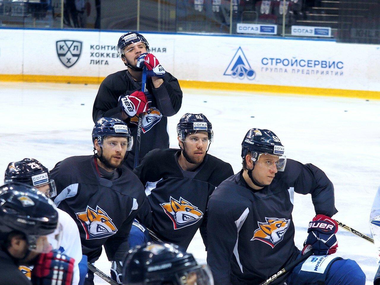 13 Открытая тренировка перед финалом плей-офф КХЛ 2017 06.04.2017