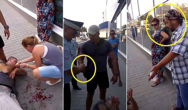 """""""Они насилуют и убивают. А если бы у него рюкзак взорвался?"""", - в оккупированном РФ Крыму жестоко избили мужчину за украинскую символику. ВИДЕО+ФОТО"""