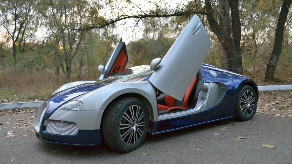 Детский Bugatti Veyron из Казахстана