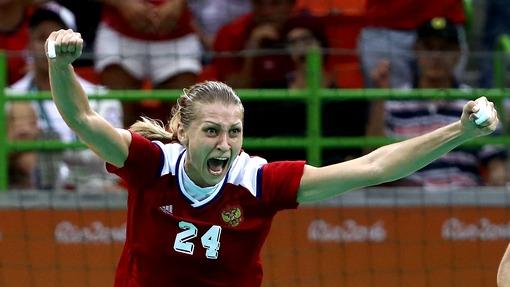 Русские  гандболистки обыграли сборную Норвегии ивышли вфиналОИ