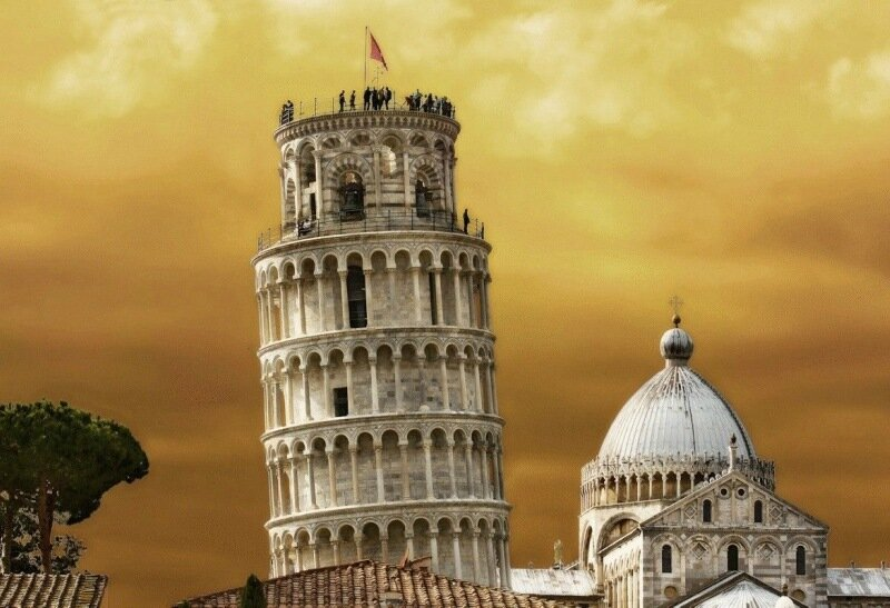 Когда упадет Пизанская башня?