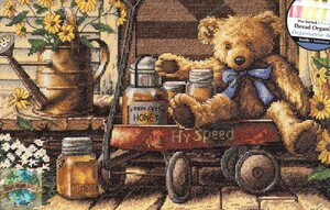 Honey Bear Teddy Wagon & Flowers.jpg