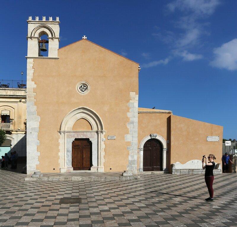Taormina. St. Augustine's Church