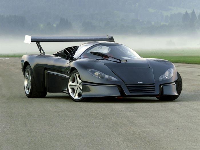 6. Sbarro GT1 Машина была создана в 1999 году по проекту дизайнера Франко Сбарро в честь победы кома