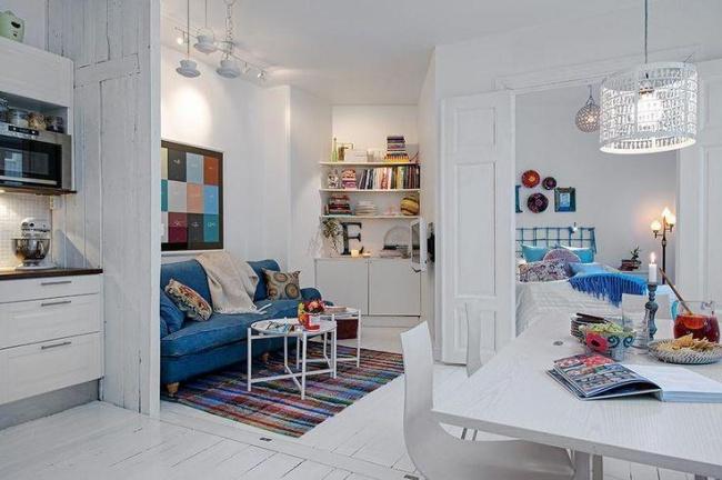 © freshome  Грамотная планировка может выделить вам дополнительную комнату там, где вынанее