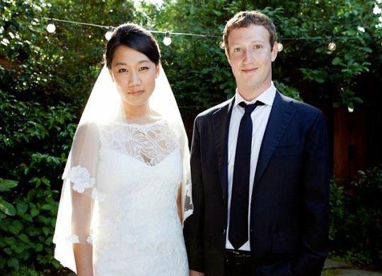 Марк Цукерберг и Присцилла Чан На ноябрь 2016 года состояние Цукерберга — более 50 миллиардов доллар