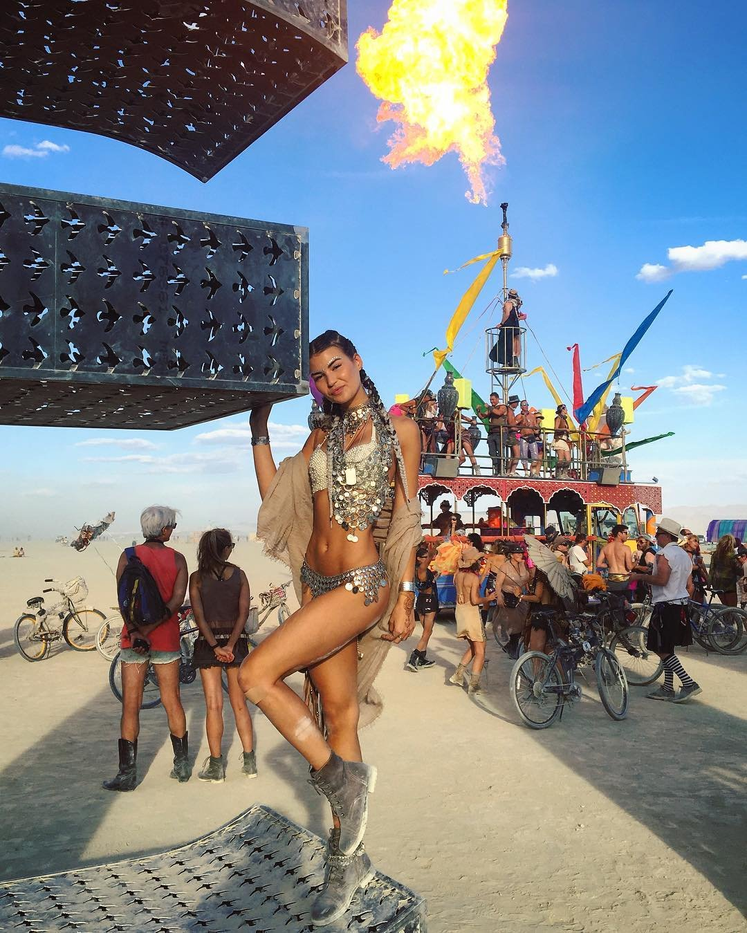 Фестиваль Burning Man 2016 в фотографиях