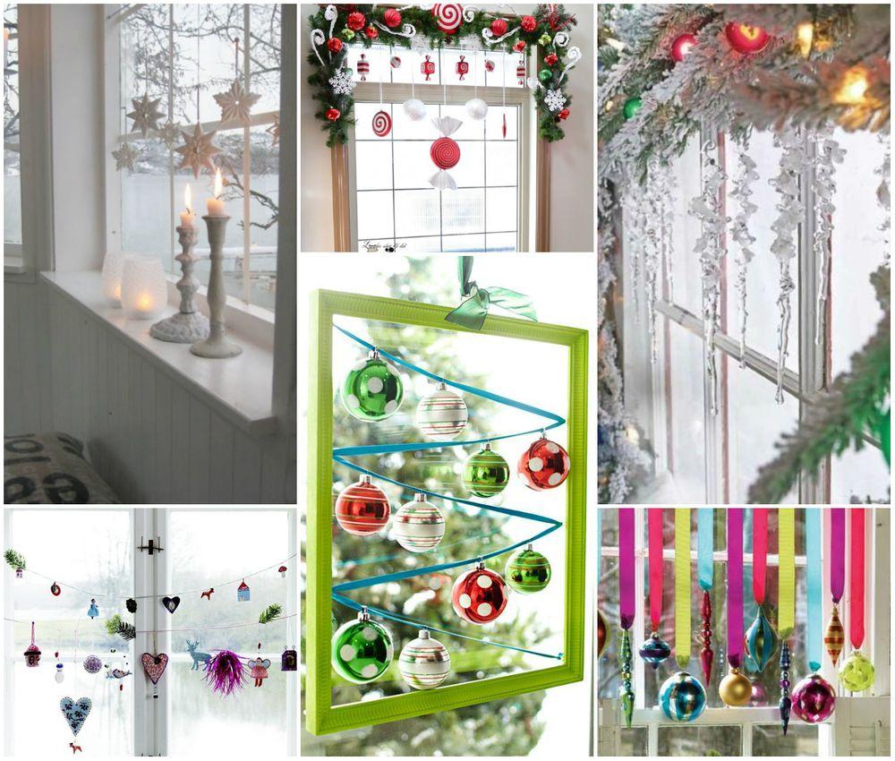 Итак, как украсить окна к Новому году, чтобы они были не только красивыми, но и продолжали выполнять