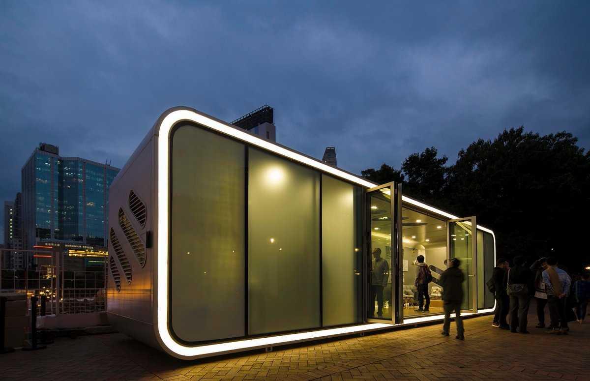 5. ALPOD, который разработчики называют мобильным домом будущего, сделан из алюминия. Поэтому он дос