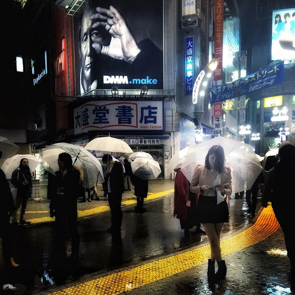 «Ночь в районе Сибуя», Брэндан О Се. Победитель в категории «Уличная фотография»