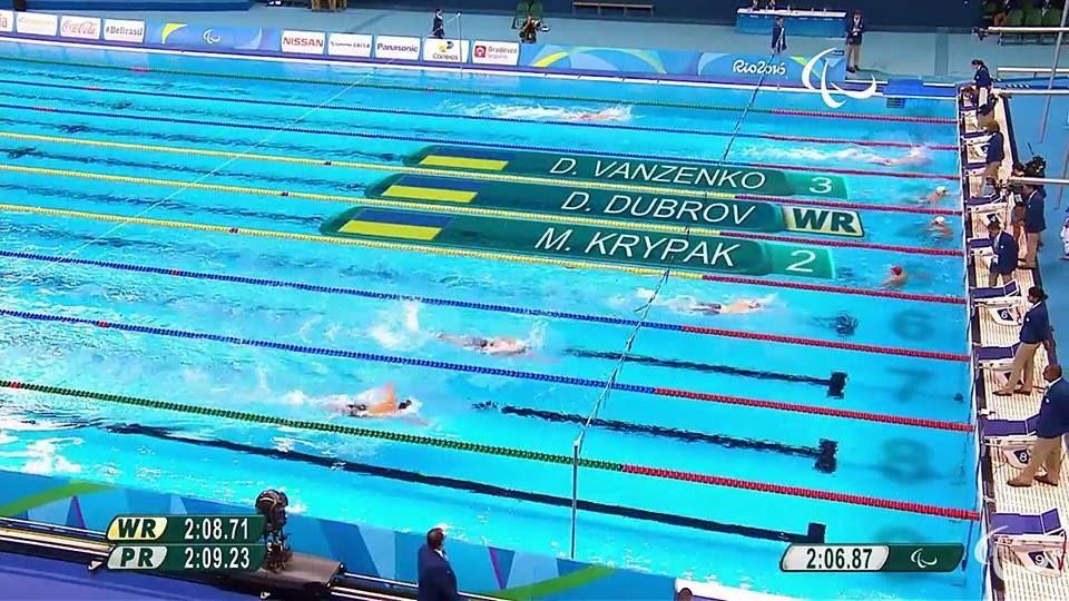 Полтавец получил 3 медали наПаралимпийских Играх 2016