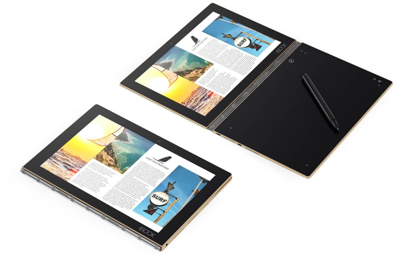 Lenovo готовит 12-дюймовый лэптоп Yoga Book