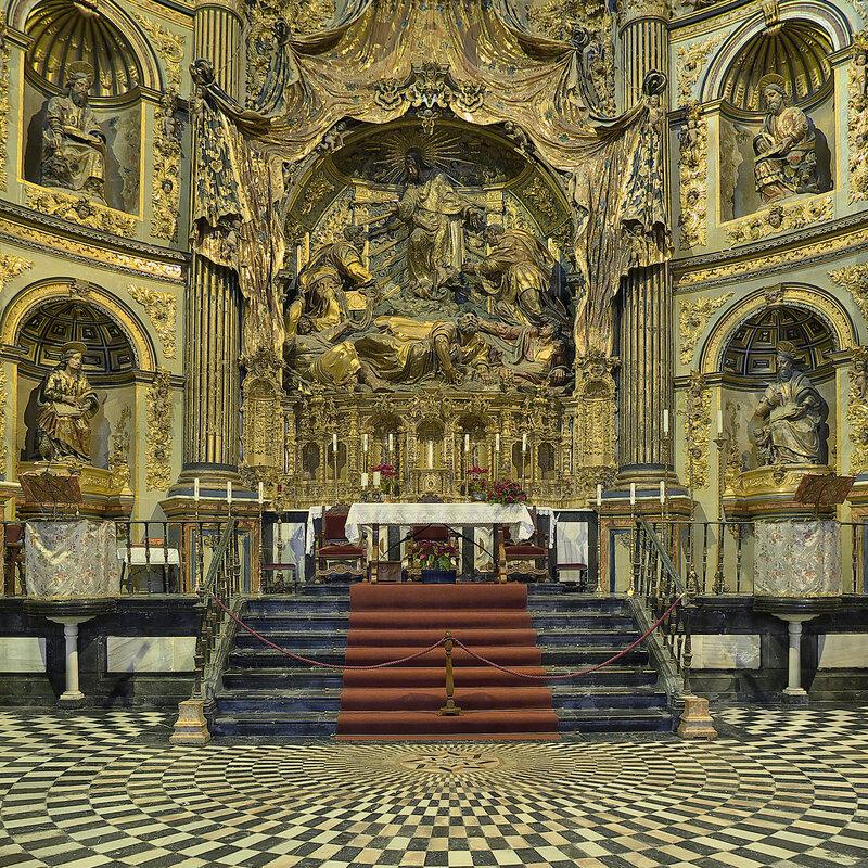 Sacra Capilla de El Salvador (Úbeda). Retablo mayor