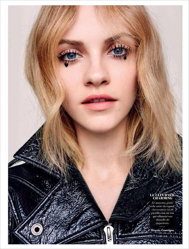 Ginta Lapina for Glamour France by Johnny Kangasniemi