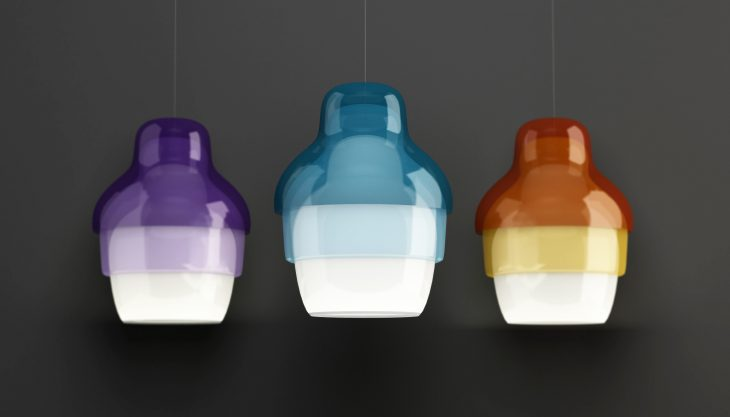Stone Designs have designed the Matrioshka Lamp, a beautiful minimalistic light piece inspired by th