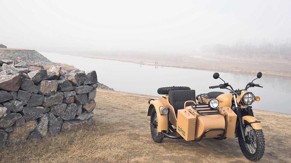 ChangJiang CJ650 - новый китайский мотоцикл с коляской
