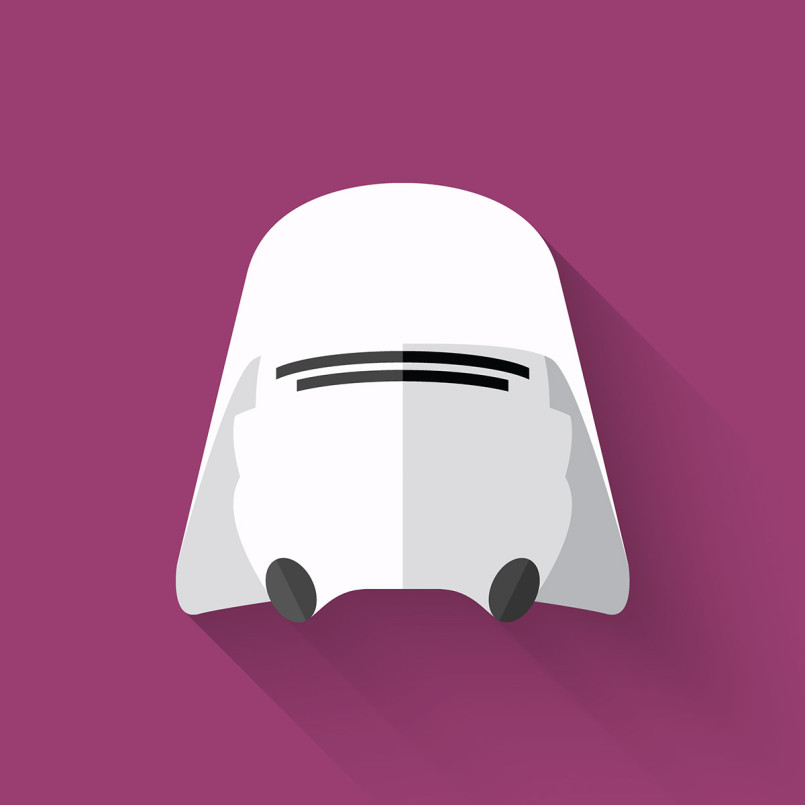 Star Wars: The Flat Awakens by Filipe de Carvalho