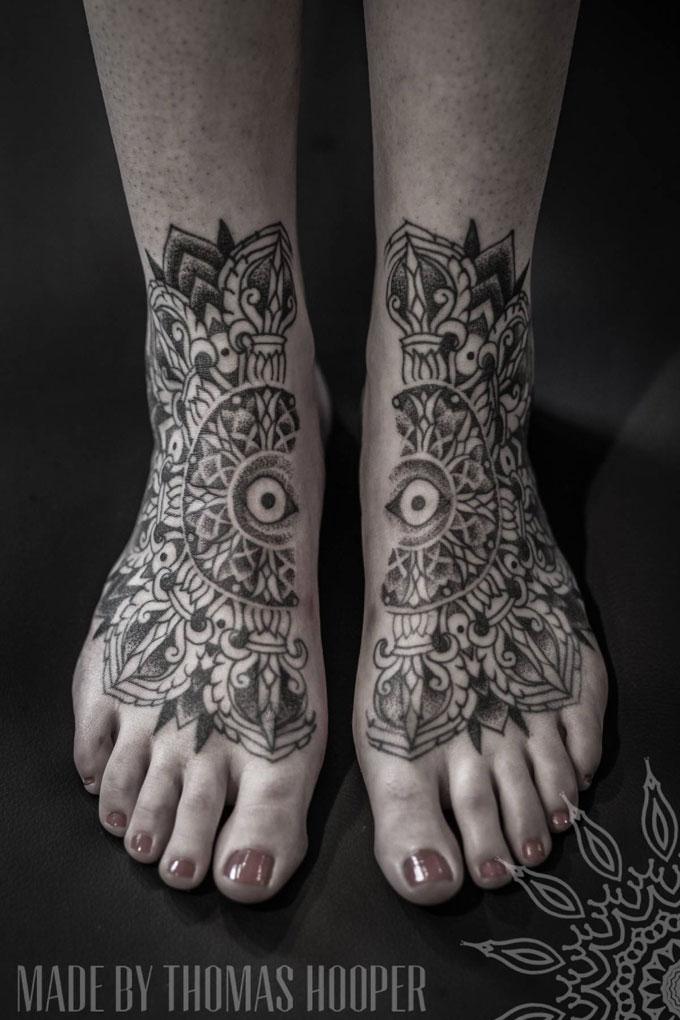 30 exemplos de Split tattoos