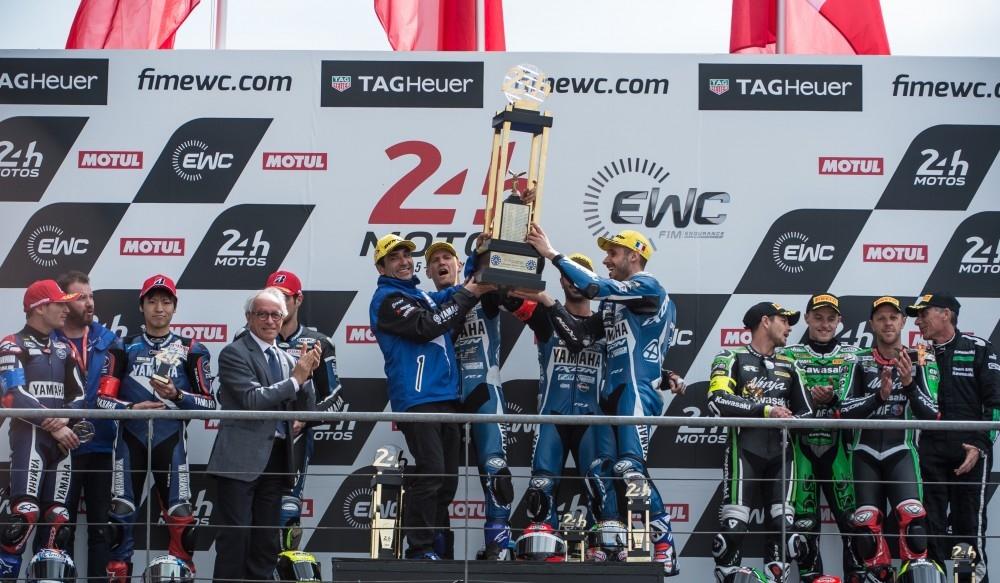 EWC 2016-2017: команда GMT94 Yamaha выиграла гонку Ле-Ман 24 часа 2017