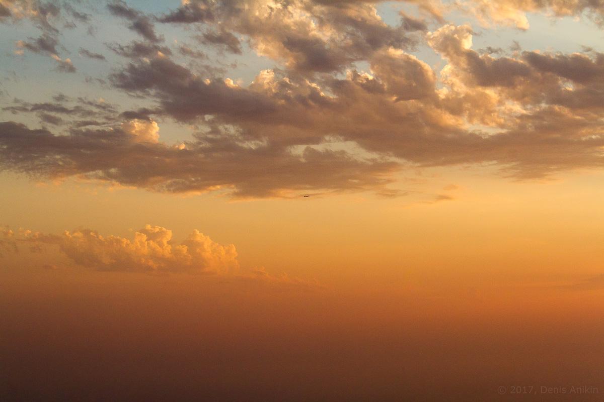 небо самолёт ахун фото 1