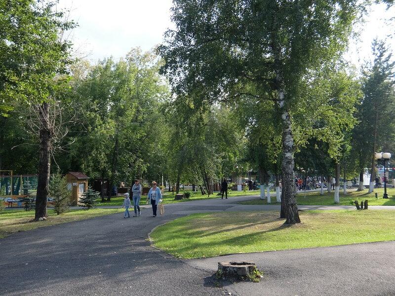 Кемерово - Аллеи в Парке Чудес