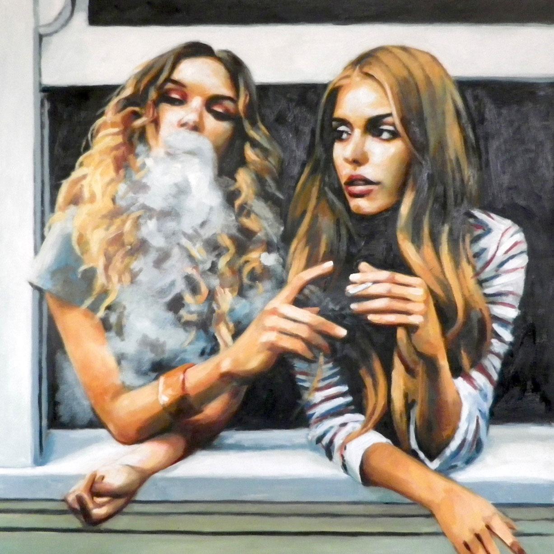 Красивые девушки в рисунках художника Томаса Сэлиота / Thomas Saliot pictures