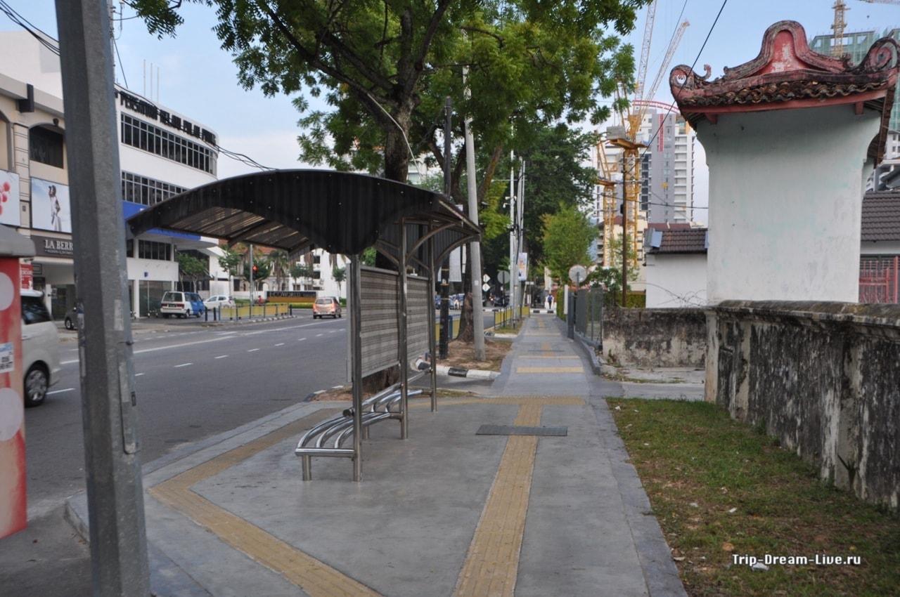 Утренняя прогулка пешком до посольства