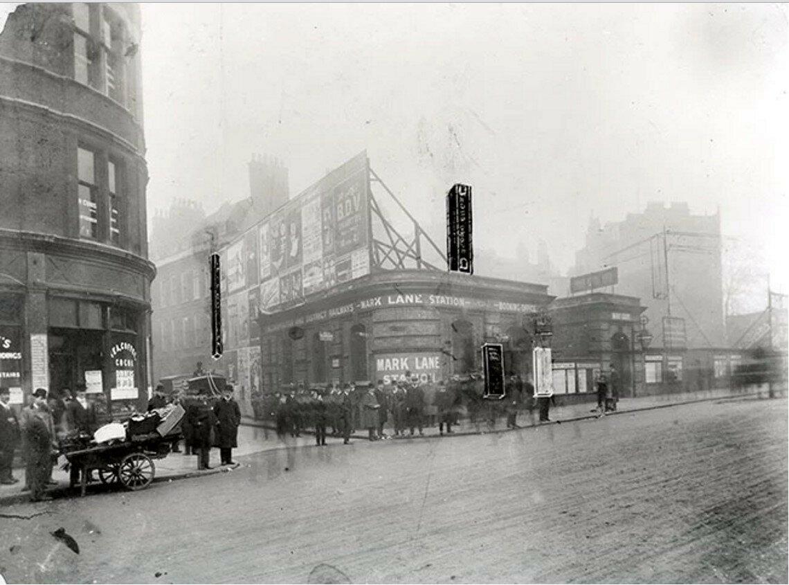 1907. Станция «Марклейн»
