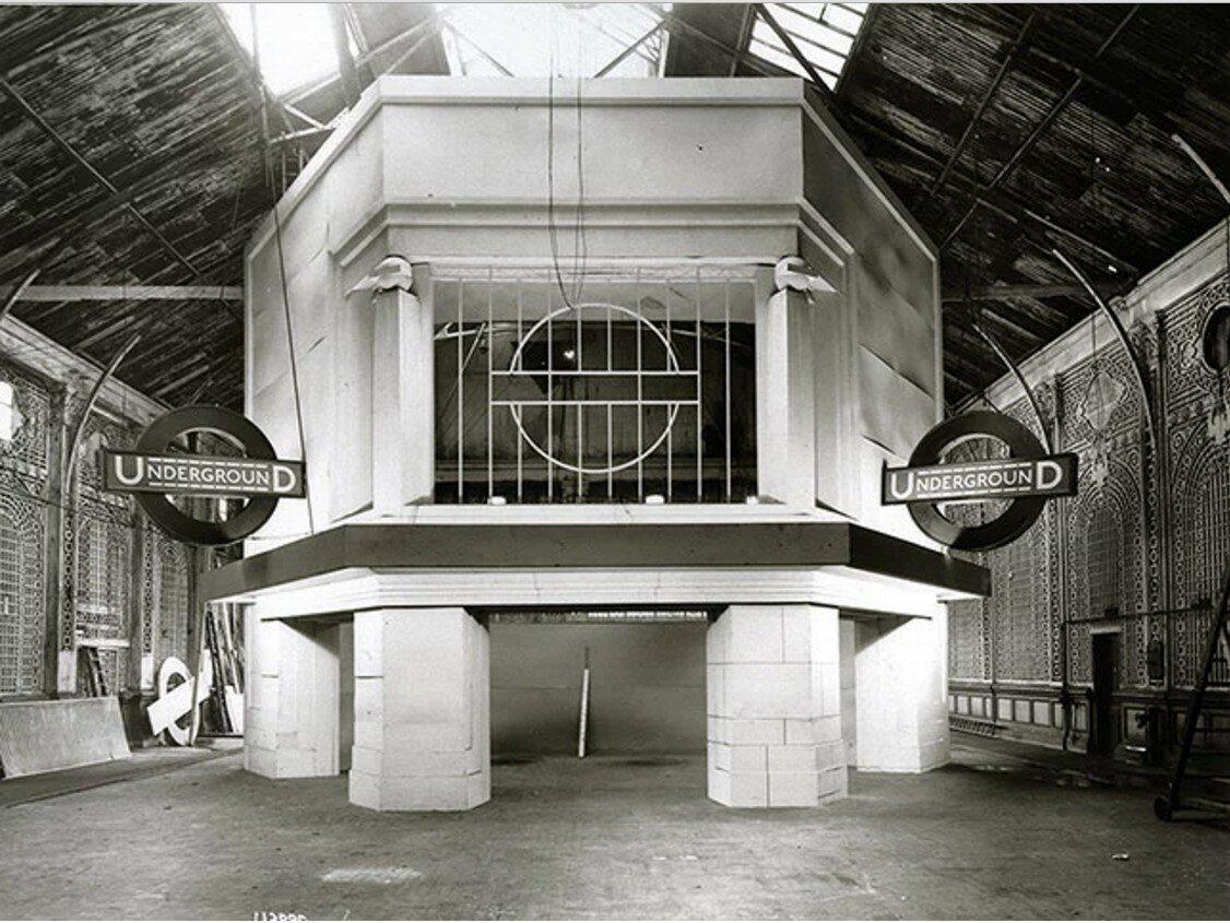 1925. Станция «Морден»