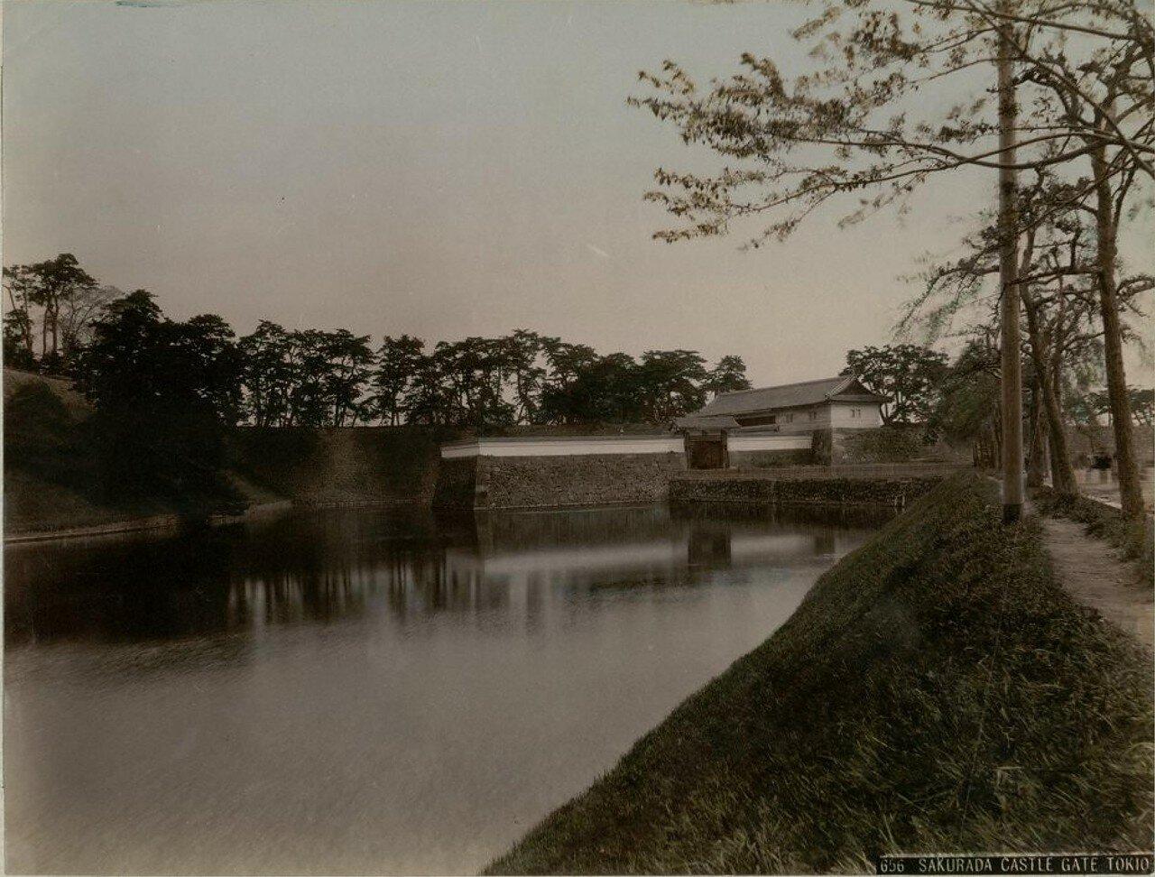 Токио. Ворота замка Сакурада