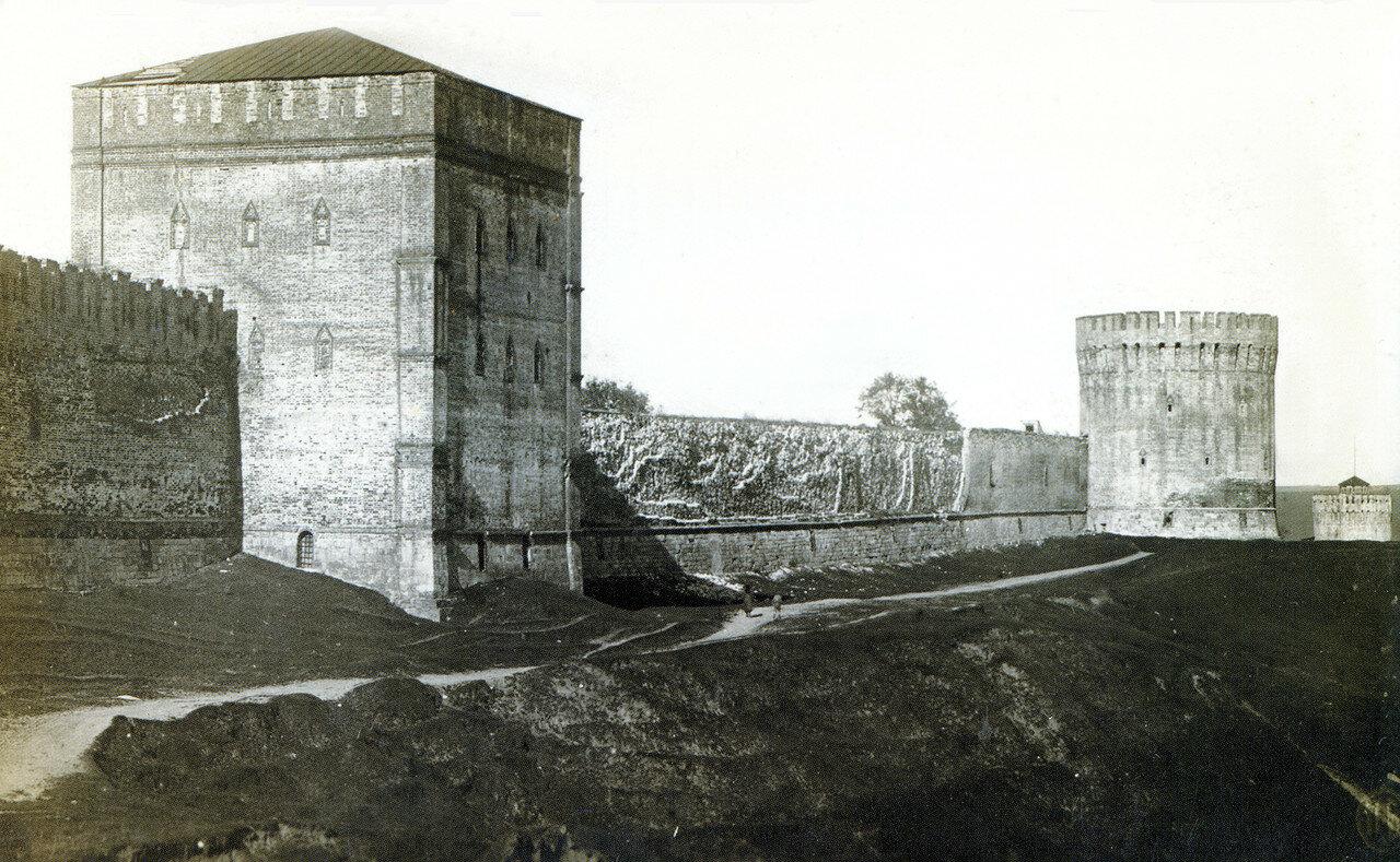Башни Авраамиевская, Орёл и Веселуха
