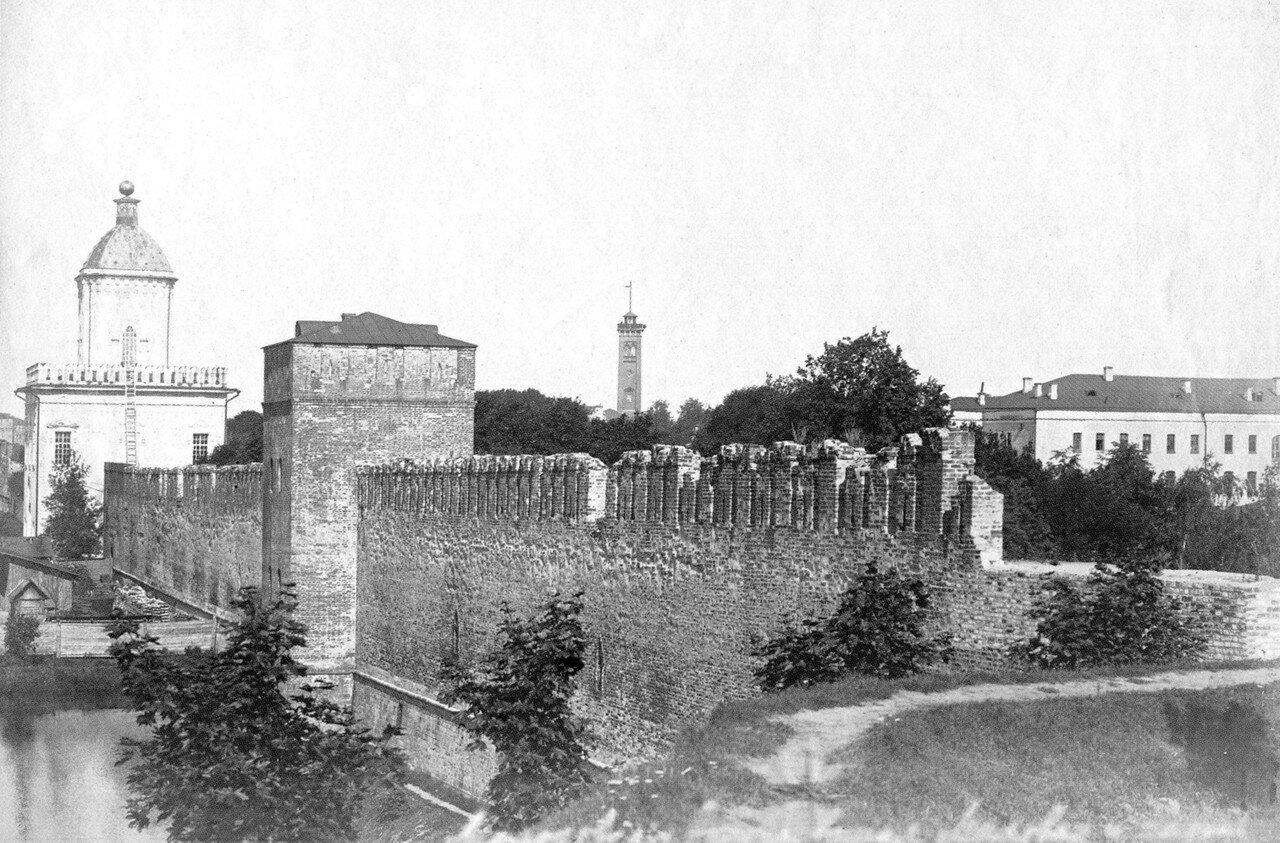 Молоховские ворота и Моховая башня. 1911