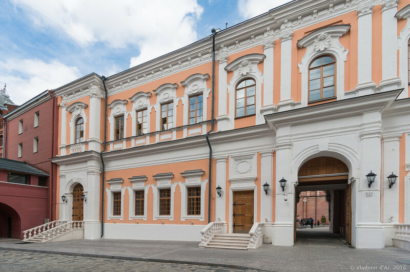 Красный монетный двор на Красной площади